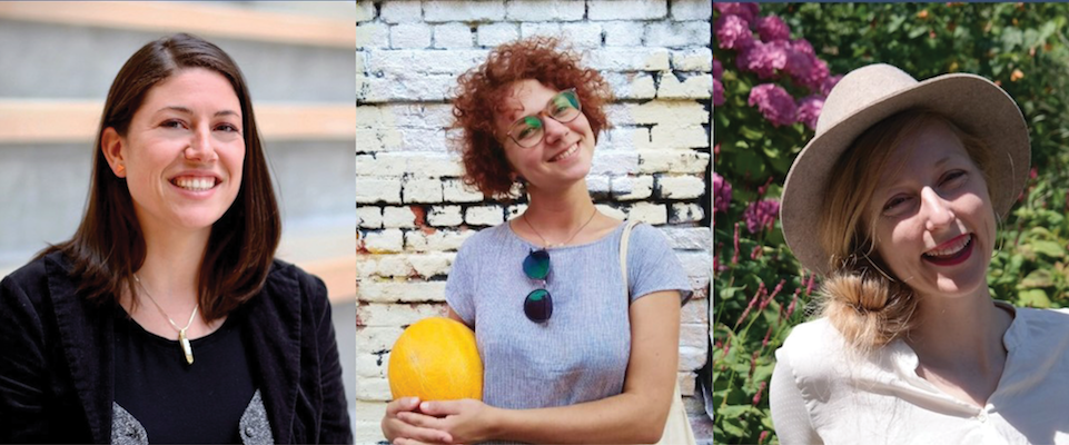 WTS Portland 2018 Scholars - Polina Polikakhina, Stephanie Lonsdale, and Sabina Roan