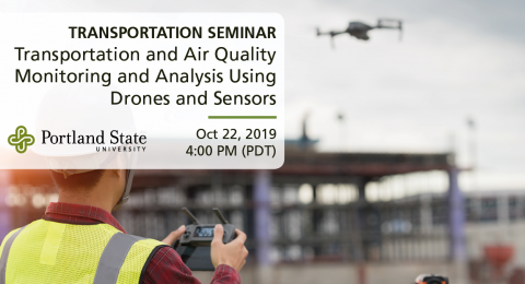 Friday Transportation Seminar at Portland State University featuring Zhong-Ren Peng, University of Florida