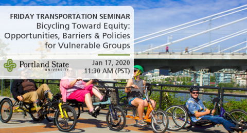 Bicycling Toward Equity:  Opportunities, Barriers & Policies for Vulnerable Groups