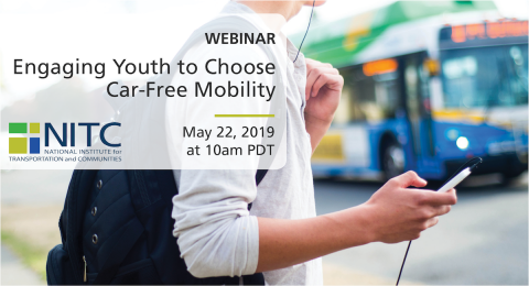 National Institute for Transportation and Communities - 2019 Webinar with Autumn Shafer